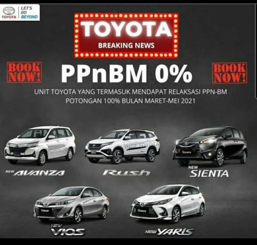 Promo Toyota ppnBm 0 %